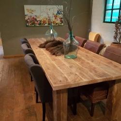 Oud eiken tafel 34