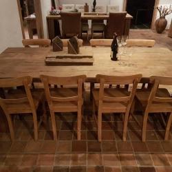 Oud eiken tafel 66
