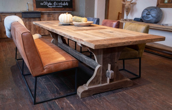 "Oud eiken tafel ""Stavanger"""